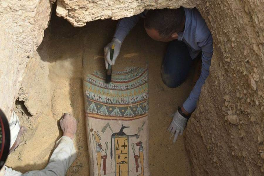 Tourism and Antiquities announces archaeological u...