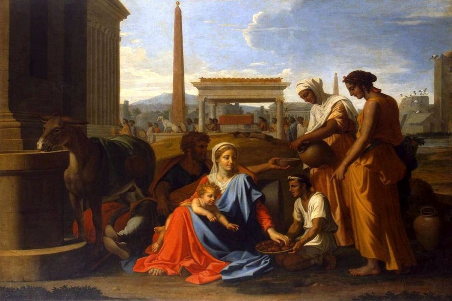 The Journey of The Holy Family to Egypt
