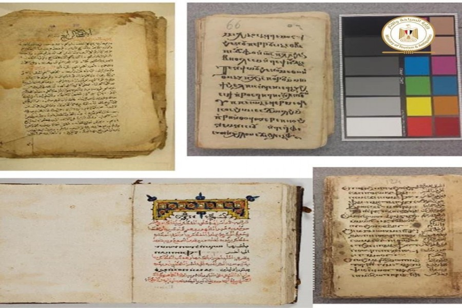 Egypt repatriation 5000 manuscripts and pieces of papyrus from USA