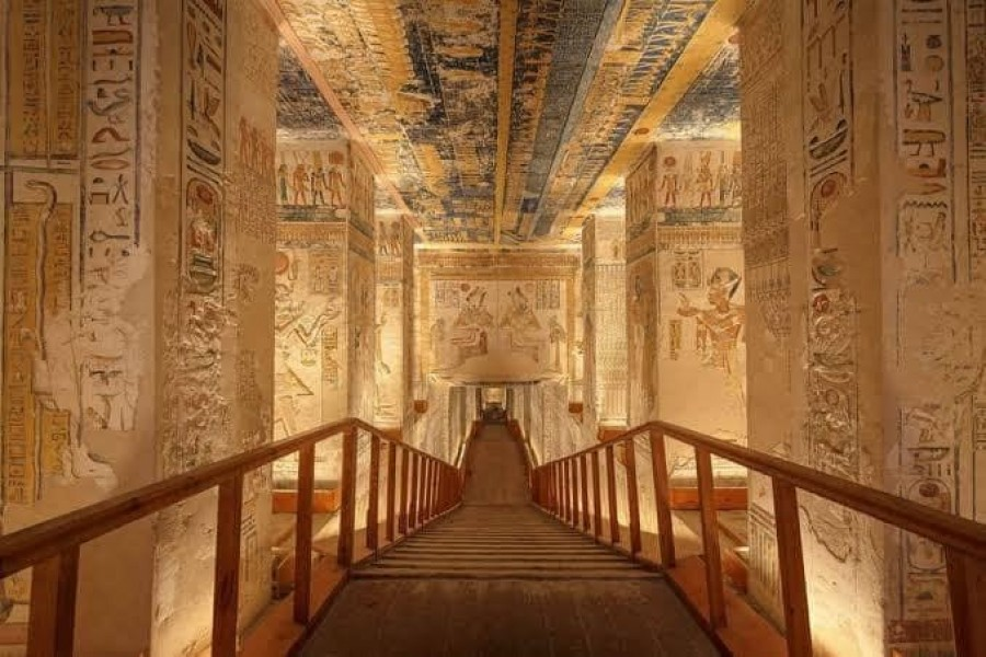 Egypt: The Tomb of Ramses VI is tonight's Virtual...
