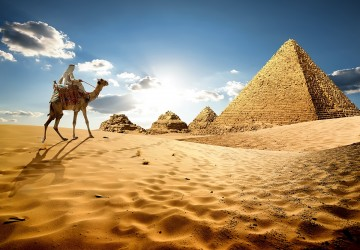 Egypt is the world's first destination for the wea...