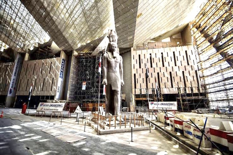 A Journey in The Grand Egyptian Museum